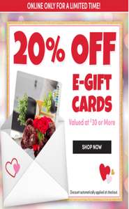 20% off Build a Bear E-gift cards valued £30 or more plus up to 50% off clearance @ Build a bear