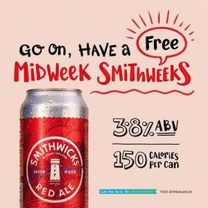 Smithwicks Free sample (Northern Ireland only) @ Send Me a Sample