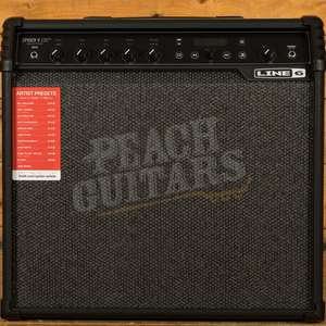 Line 6 Spider 120 MKII - 120W Guitar Amp - Effects / Looper / Metronome / Tuner Built in - £250 Delivered @ Peach Guitars