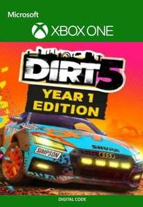 Dirt 5 Year 1 Edition [Xbox One / Series X/S - Argentina via VPN] £15.23 using code @ Eneba / Magic Codes