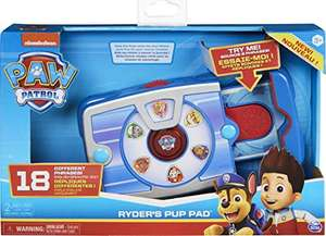 PAW Patrol Ryder's Interactive Pup Pad with 14 Sounds £10.99 (Prime) + £4.49 (non Prime) at Amazon