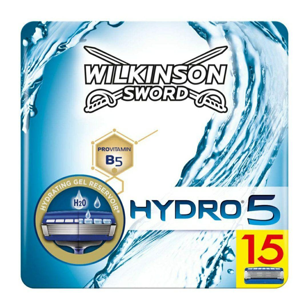 Wilkinson Sword Hydro 5 Razor 15 Blades £18.34 (+£4.49 Non Prime) @ Amazon