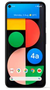 """Google Pixel 4a 5G Smartphone, Android, 6GB RAM, 6.24"""" AMOLED, 5G, SIM Free, 128GB storage + 2 years guarantee. £399 delivered @ Argos"""