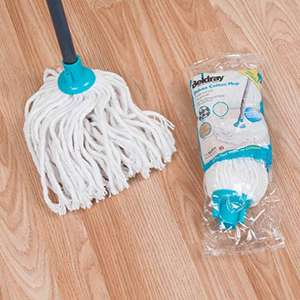 Beldray® LA049773 Absorbent Round Cotton Mop with Refill - £4.84 (+£4.49 Non-Prime) @ Amazon