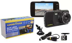 Goodyear front and rear dash cam recorder - £26.99 (+£1.99 Delivery) @ Groupon