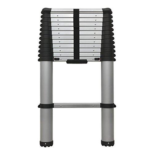 Sealey 13-Tread (3.8m) Trade Aluminium Telescopic Ladder EN 131 - £76.17 @ Amazon