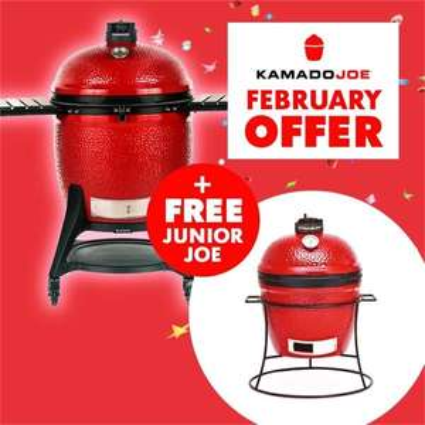 Kamado Joe Big Joe 3 + Kamado Joe Junior Joe £2499 @ Socal