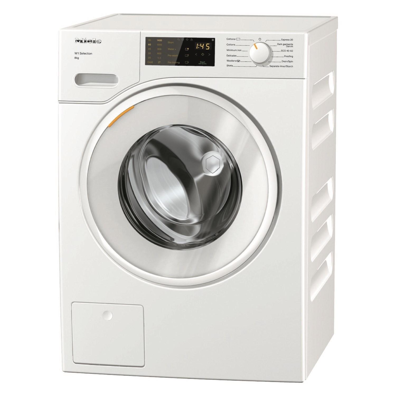 Miele W1 WSD123 8Kg Washing Machine with 1400 rpm - White - A+++ £649 @ AO