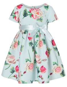 Baby floral scuba dress blue £15.75 (extra 10% off sale and free delivery) @ Monsoon