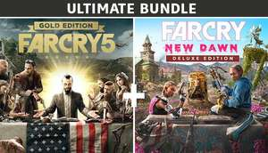 [Uplay] Far Cry 5 Gold Edition + Far Cry New Dawn Deluxe Edition Bundle (PC) - £13.17 @ Gamebillet