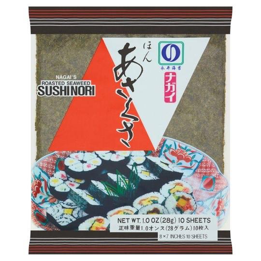 Roasted seaweed sushi nori 10 sheets - 97p Instore @ Tesco (Poole)