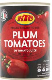 KTC Tomato Tins & More 3 for £1.00 (+ Delivery Charge / Min Spend Applies) @ Asda