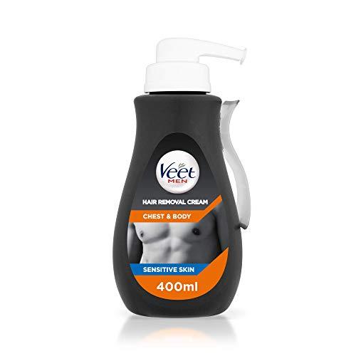 Veet Men Hair Removal Cream Chest & Body, 400 ml £6.79 + £4.49 NP @ Amazon