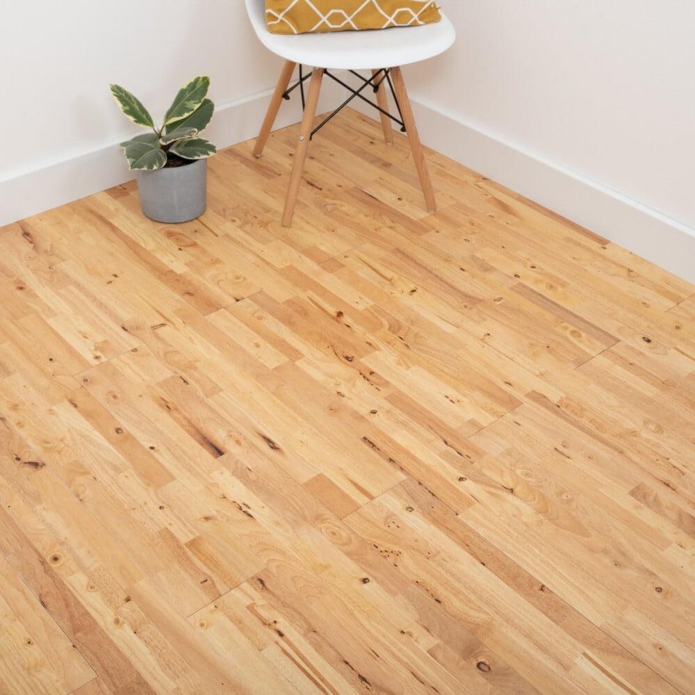 Brinham Natural Parawood Solid Wood flooring (£19.94 per sqm, exc P&P - from £20 per order) @ Luxury Flooring and Furnishings