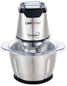 Mini Chopper 600W LINKChef Mini Food Processor - £19.54 Prime + £4.49 NP Sold by GUOBO and Fulfilled by Amazon