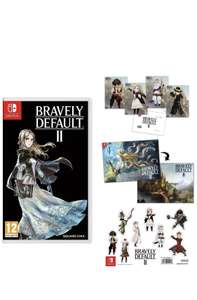 Bravely Default 2 + Double sided poster - A5 Sticker Sheet - Postcard Set £39.85 @ ShopTo