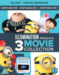 Despicable Me 1-3 blu ray £6.29 at zoom