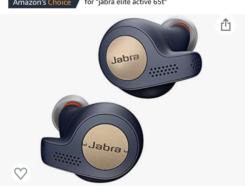 Jabra Elite Active 65t Earbuds £78.53 @ Amazon EU