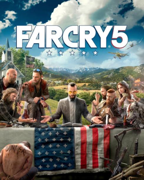 Far Cry 5 - Standard Edition on Steam £9.99
