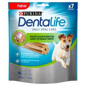 Free packet of Dentalife dog chews small/med/large with code online @ Sainsbury's