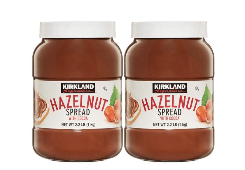Kirkland Signature Hazelnut Spread, 2 x 1kg - £4.19 @ Costco instore