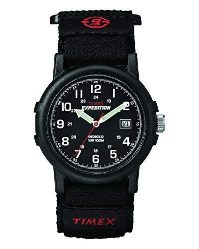 Timex Men's Expedition Camper 38mm Black Fastwrap Watch - £24.10 @ Amazon