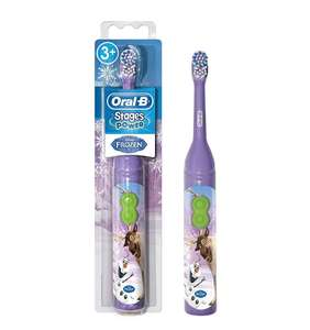 Kids Oral B stages Frozen Battery electric toothbrush £3.75 (+ £4.49 nonPrime) / Minions one for £3.48 at Amazon