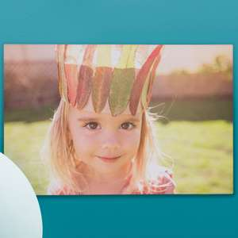 Vodafone VeryMe Rewards - Free Photobox Lite rectangular 20x30cm simple canvas - Pay £4.95 Postage