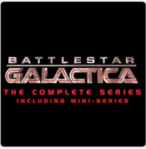 Battlestar Galactica Complete Collection (includes mini series) £20.99 @ iTunes