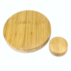 M&W Bamboo Circle placemats and coasters set (four of each) for £9.34 delivered using code @ Roov