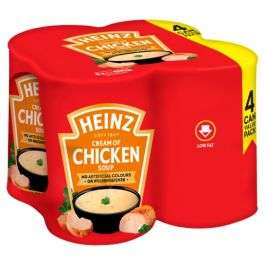 Heinz Chicken Soup (400g tins) 4 pack £2 in Poundland Cheltenham High Street