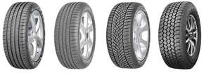 Upto £100 off when you but a set of 2 or 4 Goodyear tyres from Costco