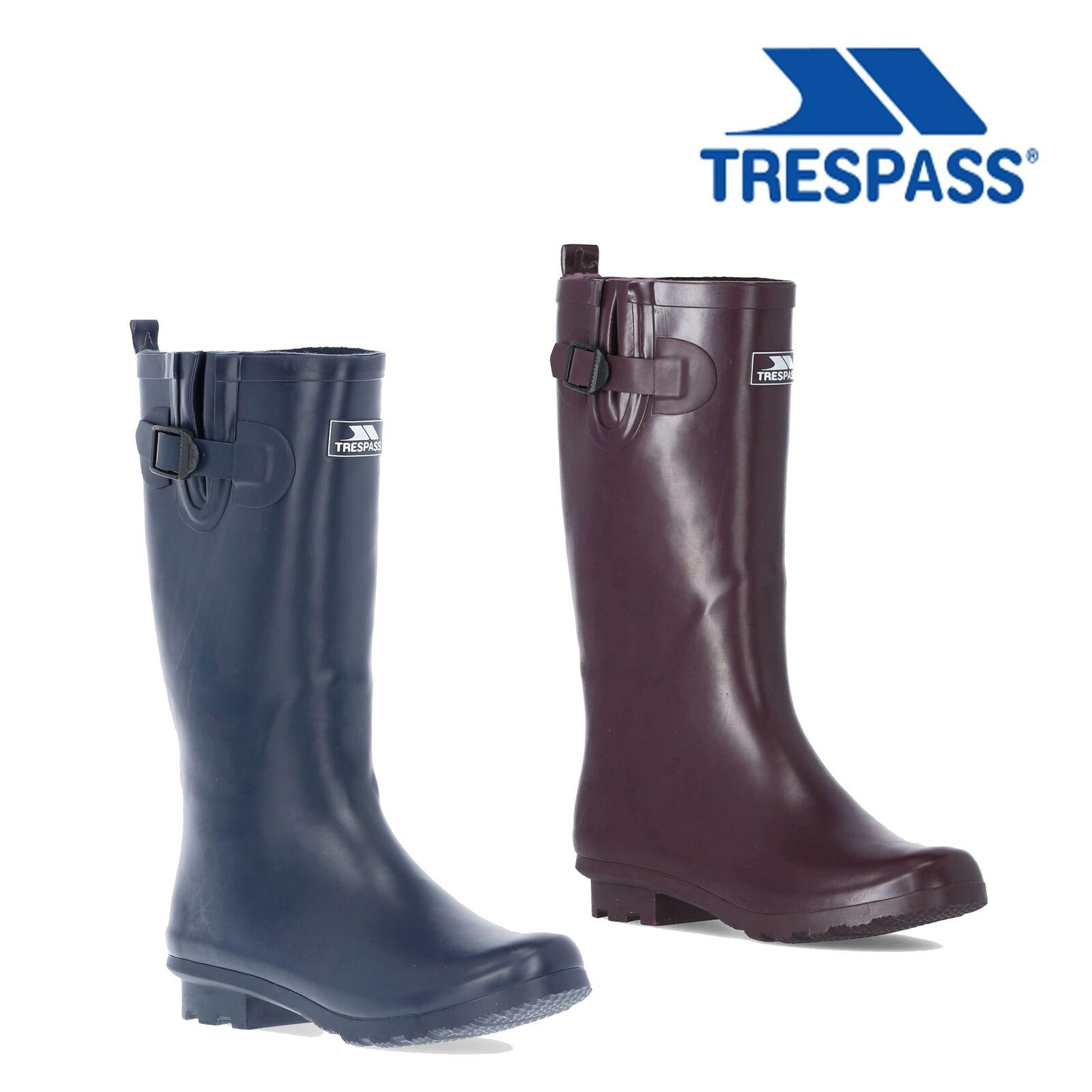 Trespass Womens Waterproof Rain Wellies £18.69 Delivered (UK Mainland) using code @ eBay / Trespass