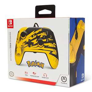 PowerA Enhanced Wired Controller – Pikachu Lightning (Nintendo Switch) - £15.99 (Prime) / 18.98 (Non-prime) Delivered @ Amazon