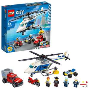 LEGO City Police Helicopter Chase Building Set - 60243 - 2 for £30 or £25 each + £3.95 Delivery @ Argos