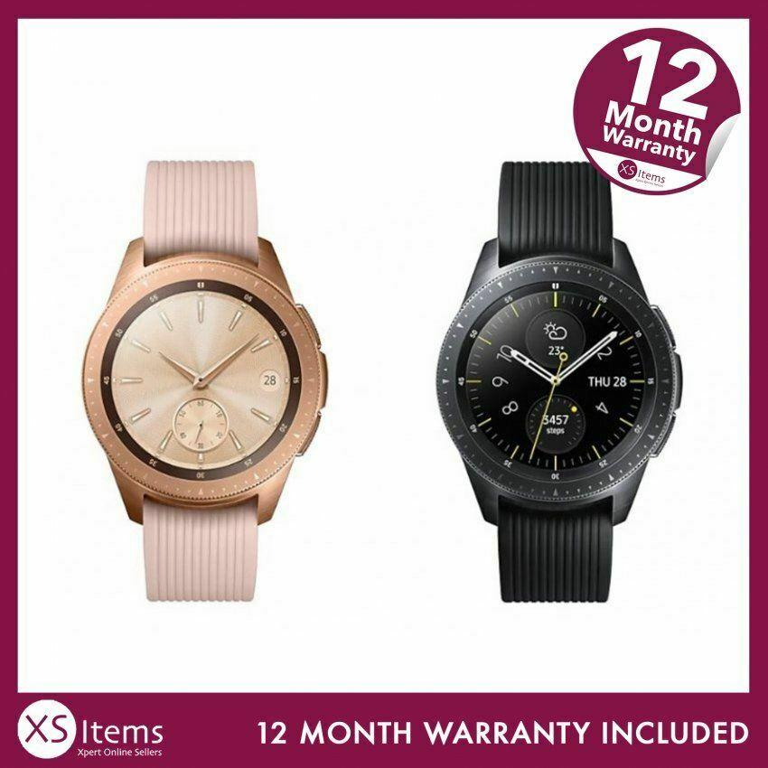 Samsung Galaxy Watch 42mm 4GB Bluetooth SM-R815F Android/iOS - refurbished - £62.04 @ xsitems_ltd ebay