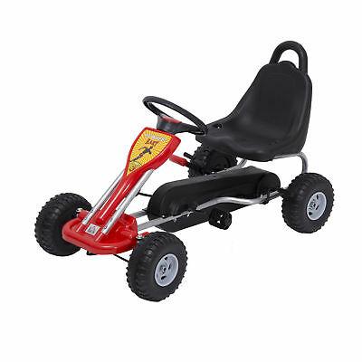 Deluxe Kids Ride Pedal Racing Car Go Kart Adjustable Seats with Hand Brake - £36.54 delivered @ eBay / 2011homcom