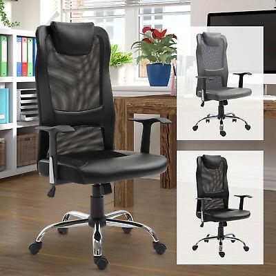 High Back Mesh Adjustable Office Chair £53.54 Delivered using code @ eBay / 2011homcom