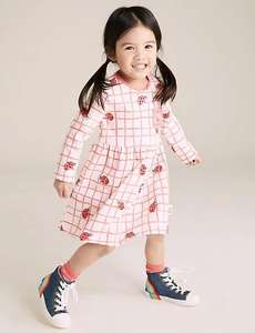 30% off Roald Dahl and Natural History Museum kids Clothes, Dresses from £7. Pyjamas From £8.40 + £3.95 Delivery From Marks and Spencer