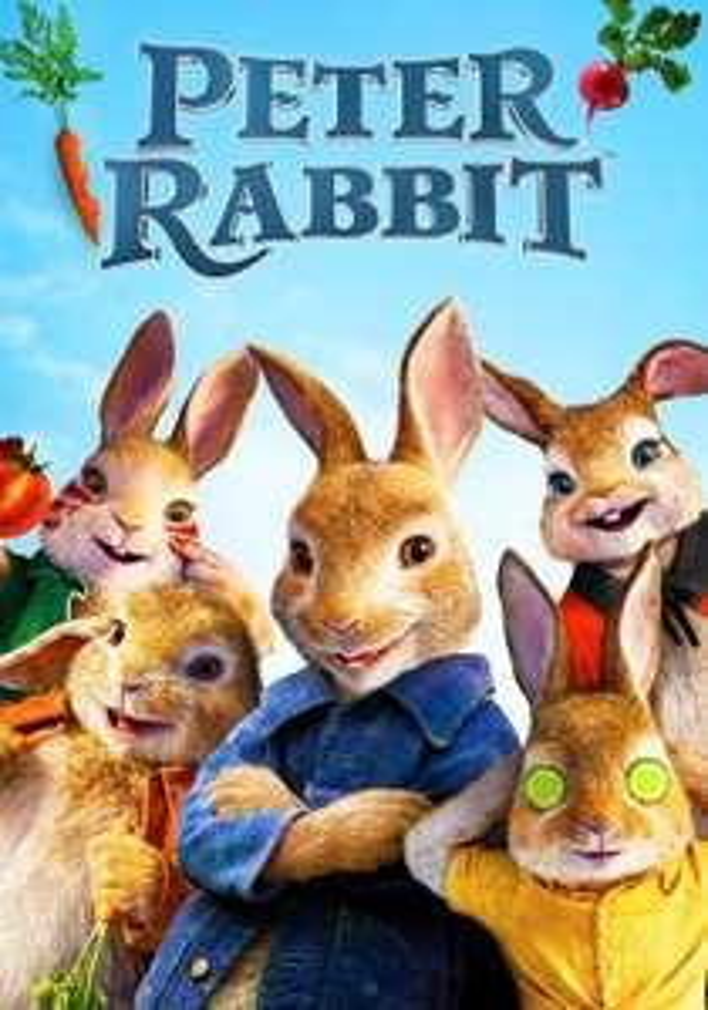 Peter Rabbit (2018) 4K Rental £1.99 @ iTunes Store