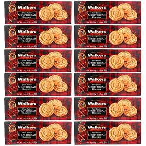 12 x Walkers Pure Butter Shortbread Rounds 150g Boxes (BB 30/03) £8 @ Yankee Bundles