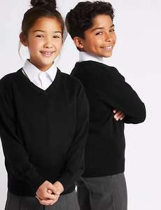 20% Off Almost All Children's School Uniform (Excluding school shoes, socks, tights & face masks) £3.50 p&p / Free over £50 @ M&S