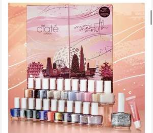 Mini Manic Vegan Nail Polish Advent Calendar £24.99 delivered @ ciate