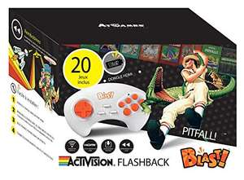 Activision Flashback Blast! - AtGames Wireless HDMI Console - 20 Atari 2600 games - £12.86 delivered (UK Mainland) @ Amazon.fr