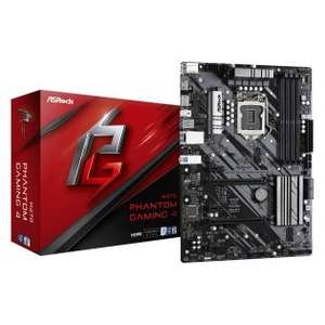 ASRock H470 Phantom Gaming 4 Intel 10th and 11th Gen, Dual M.2, USB 3.2 Gen2 (Type-A + Type-C) Motherboard £99.02 Tech Next Day