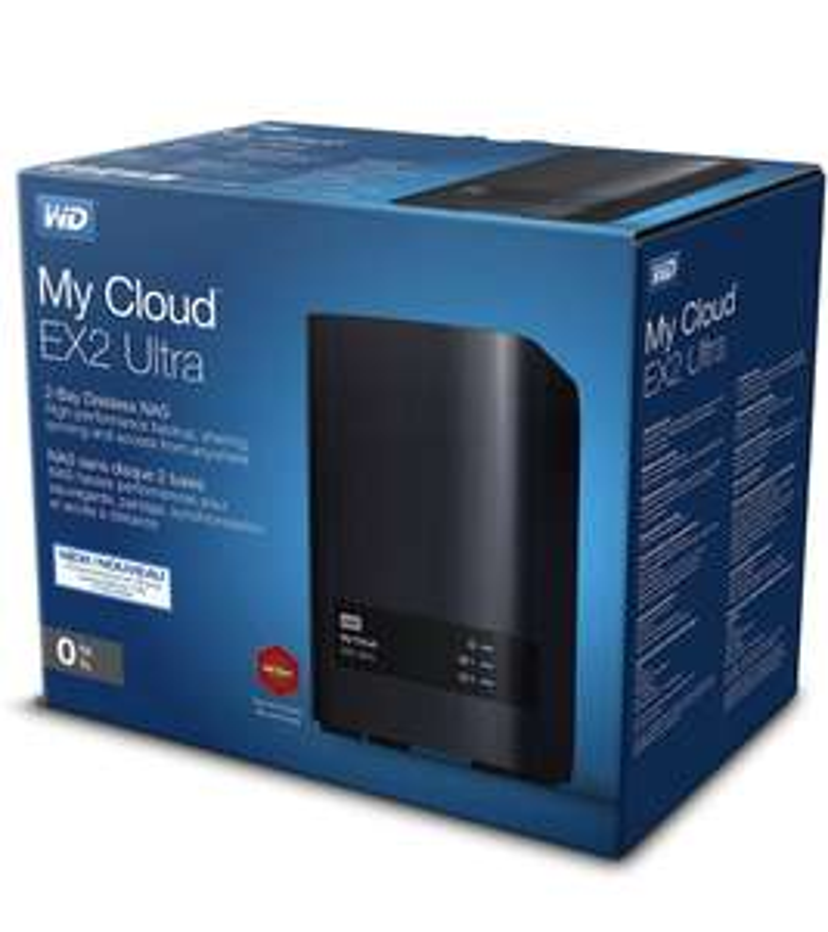 WD My Cloud EX2 Ultra - Black, Diskless £114.99 at Amazon