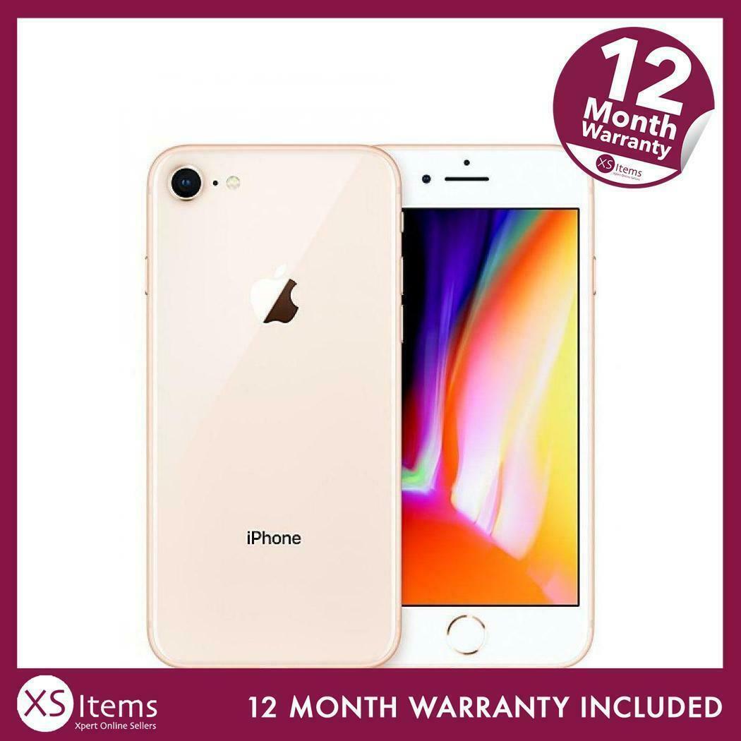 Refurbished Apple iPhone 8 A1905 64GB 12MP Mobile Phone Smartphone Gold Unlocked £161.49 eBay / xsitems_ltd