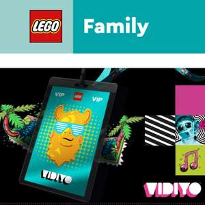 Free Lego Vidyio Welcome Pack when you register for the VIDIYO backstage pass (email invite only)