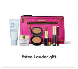 Free gift when you spend £50 on selected Estee Lauder (+£3.50 delivery free when spend £30) @ Boots