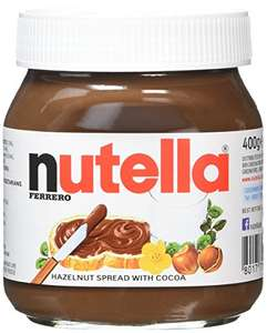 Nutella Hazelnut Chocolate Spread, 400 g, Pack of 6 for £9.99 (+ £4.49 Non Prime) @ Amazon